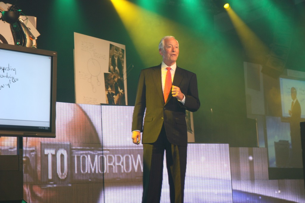 Brian Tracy at National Agents Alliance's Leadership Conference