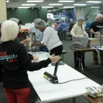 Volunteers at the Feed the Hunger Pack a Thon