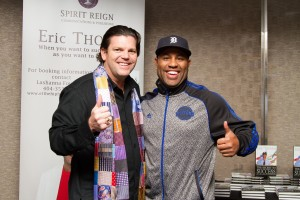 Andy Albright with Eric Thomas