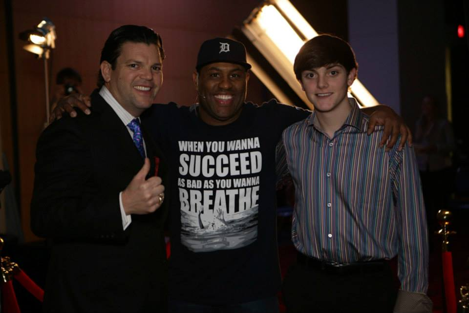 Eric Thomas, Andy Albright and Spencer Albright